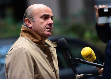 """Guindos cree que la política expansiva del BCE """"está en sus límites"""""""