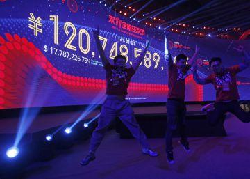 Alibaba bate un nuevo récord de ventas por el Día del Soltero en China