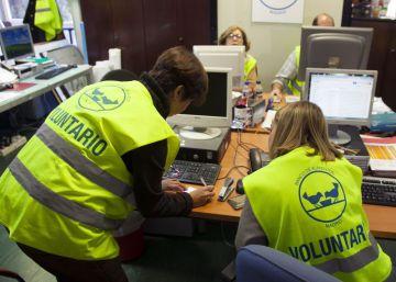 Trabajar como voluntario para desconectar del trabajo