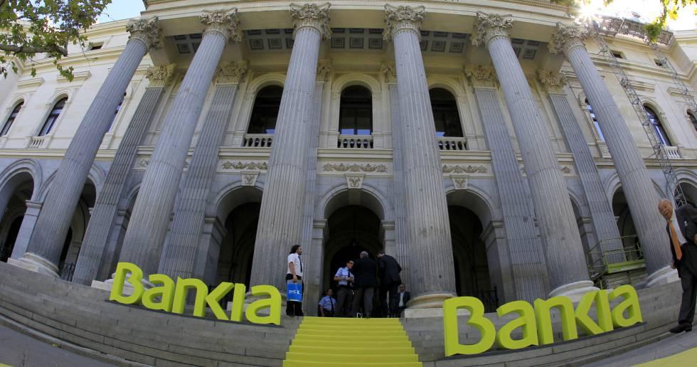 Día de la salida a Bolsa del grupo Bankia en 2011.