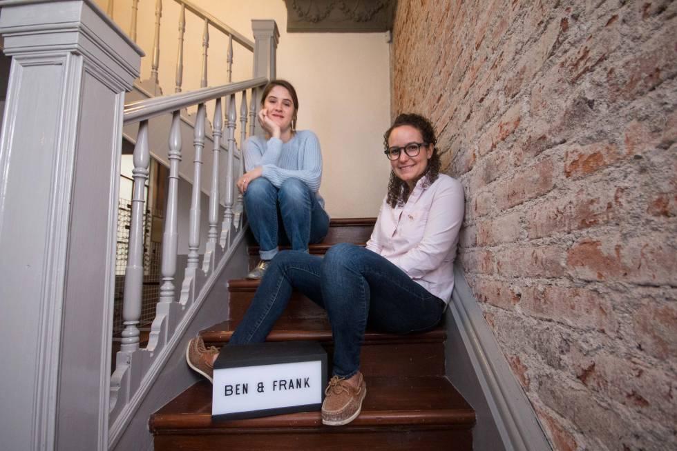 María José Madero y Mariana Castillo, fundadoras de Ben & Frank.