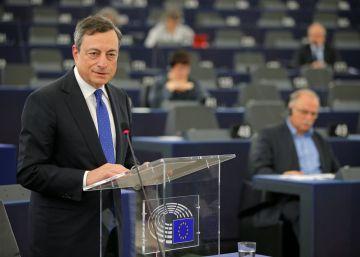Draghi apoya el estímulo fiscal que propone la Comisión