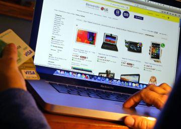 Las compras online de los españoles aumentaron un 27% el año pasado