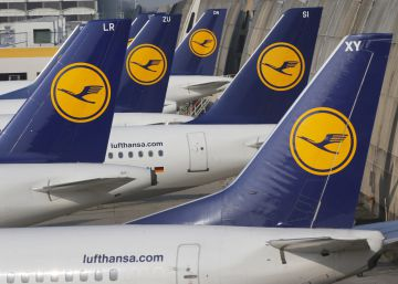 Lufthansa cancela 876 vuelos por la huelga de pilotos de este miércoles