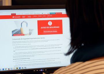La tasadora del Santander denuncia la entrada de piratas informáticos en su web