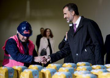 La fábrica de Campofrío resurge de las cenizas dos años después del desastre