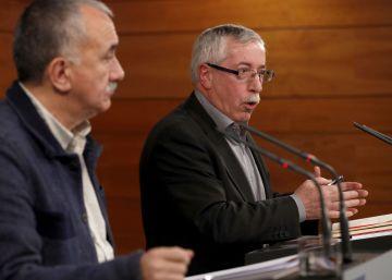 Los sindicatos echan el primer pulso de la legislatura al nuevo Gobierno