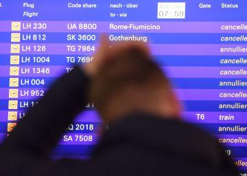 La huelga de Lufthansa cancela 2.755 vuelos y afecta a 345.000 pasajeros en cuatro días