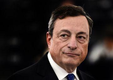 """Mario Draghi: """"Predomina la incertidumbre política"""""""
