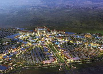 Un grupo estadounidense planea un macrocomplejo de hoteles y ocio en Madrid