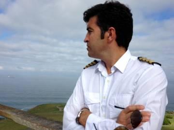 Dimas Alonso, capitán de metanero.