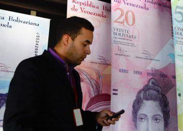 Venezuela emite billetes de mayor denominación ante la caída del bolívar