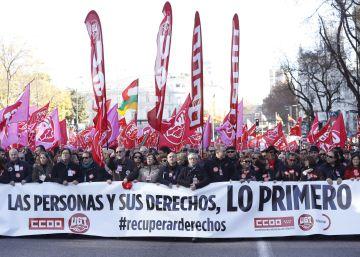 """Los sindicatos piden a la izquierda acuerdos """"para recuperar derechos"""""""