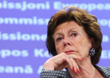 Bruselas perdona a una excomisaria que ocultó su cargo en una empresa opaca