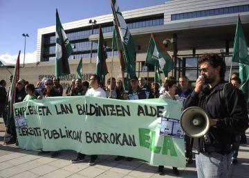 La justicia anula las 35 horas de los funcionarios vascos y Urkullu recurre