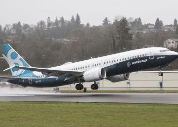 Boeing registra una caída en los pedidos de aviones