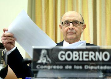 Montoro anuncia que penalizará fiscalmente a las grandes empresas que incurran en morosidad