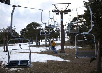 El negocio del esquí se derrite