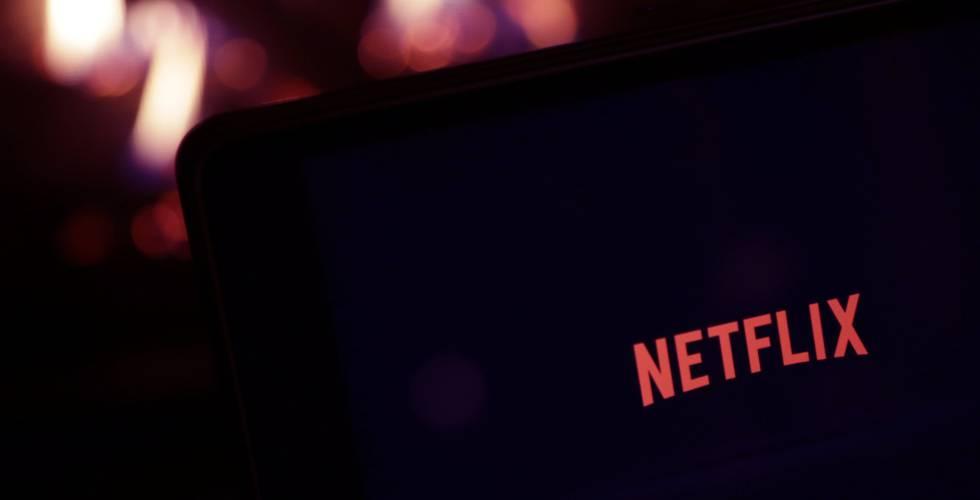 Logo de la plataforma streaming Netflix