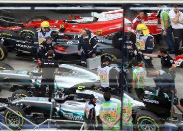 Fórmula 1 hasta en la sopa