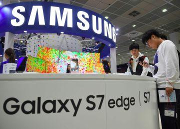 Samsung registra su mejor trimestre en tres años a pesar del fracaso del Galaxy Note 7