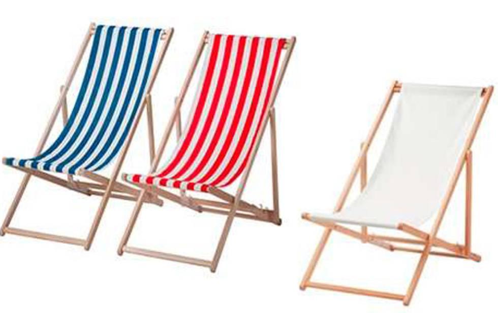 Ikea retira unas sillas de playa por peligro de ca das y for Sillas para jugar a la play