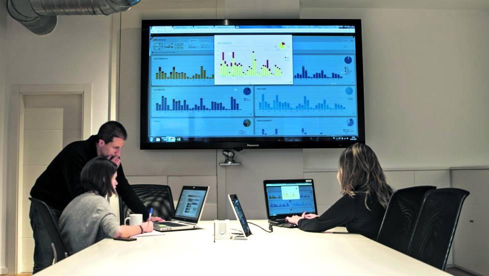 Equipo de monitorización de Shackleton Buzz&Press.