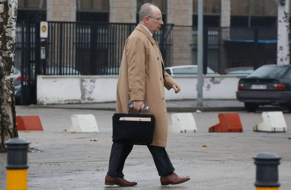 El expresidente de Caja Madrid, Rodrigo Rato, el 2 de febrero.