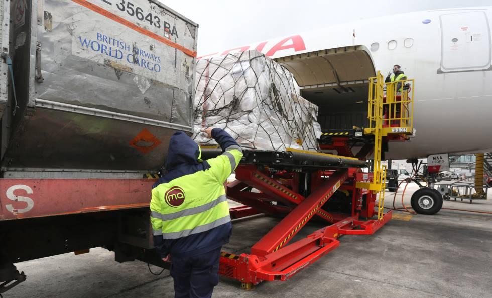 Cualquier equipaje puede ser localizado en su contenedor.