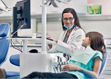 Imagen durante una consulta médica.