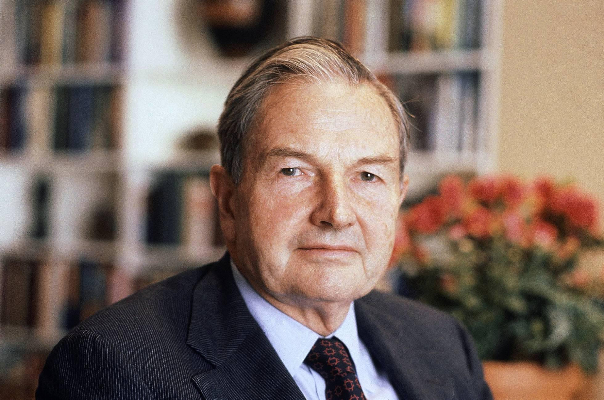 Muere David Rockefeller