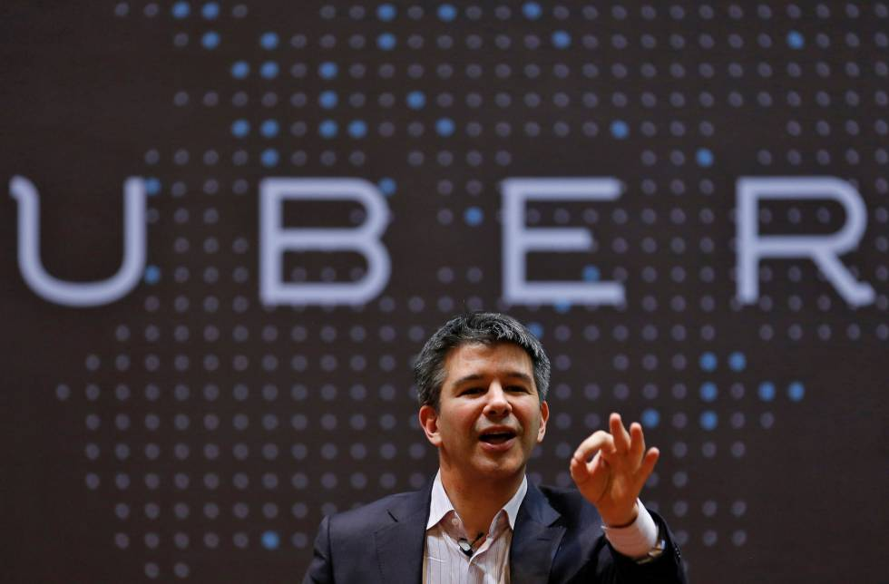 Travis Kalanick, presidente executivo do Uber