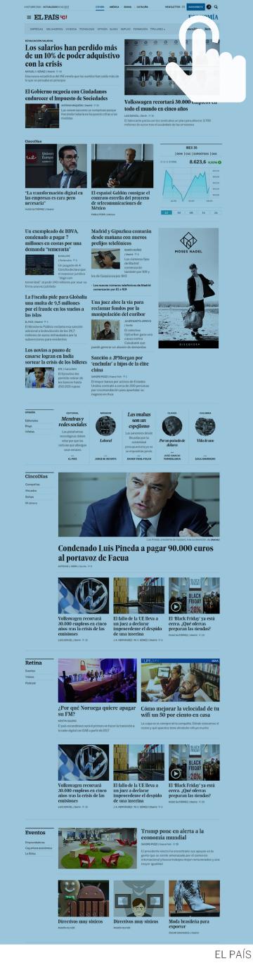 EL PAÍS Economía, la mayor oferta de información económica en español