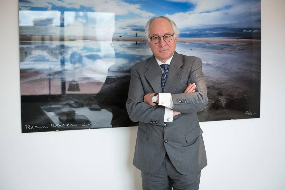 Juan María Nin, ex vicepresidente de La Caixa