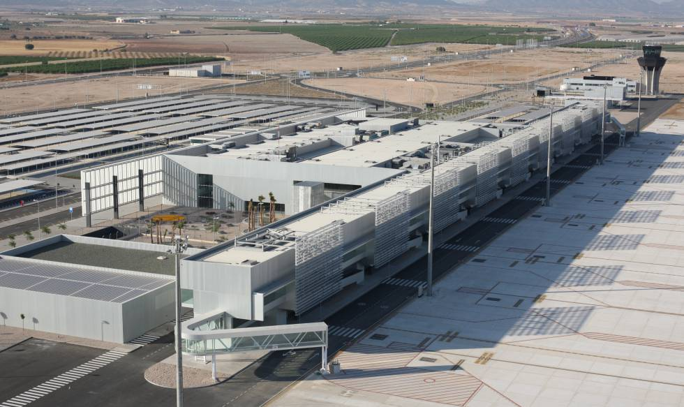 Corvera airport received an initial investment of €270 million and building work is all but finished.