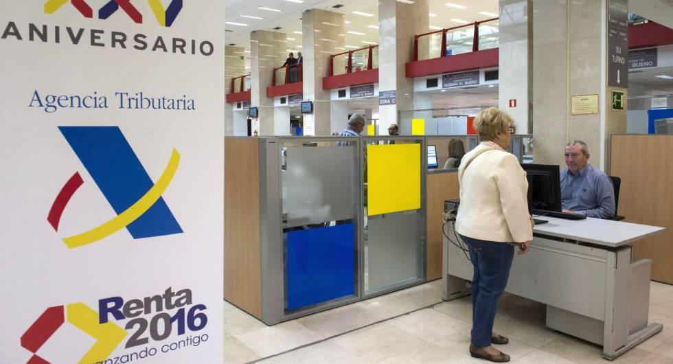 Instalaciones de la Delegación Especial de la Agencia Tributaria en Madrid.