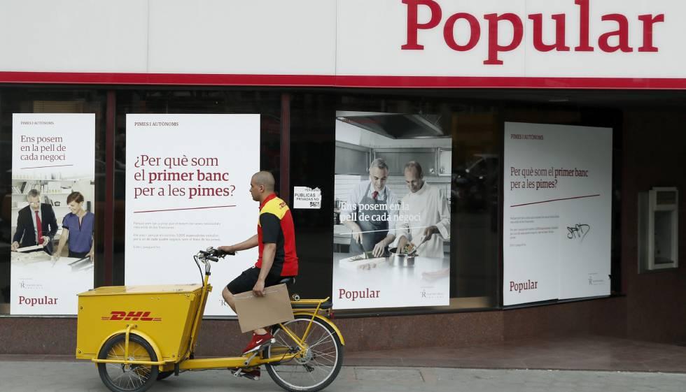 Concentraci n bancaria acelerada econom a el pa s for Banco popular barcelona oficinas