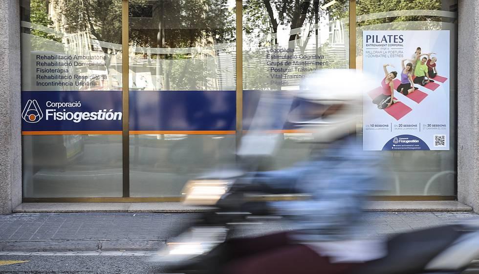 Una de les seus de Corporación Fisiogestión, a la Diagonal de Barcelona.