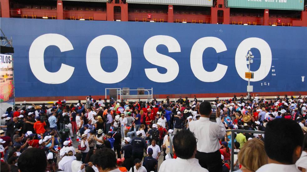 La china Cosco compra el 51% de Noatum
