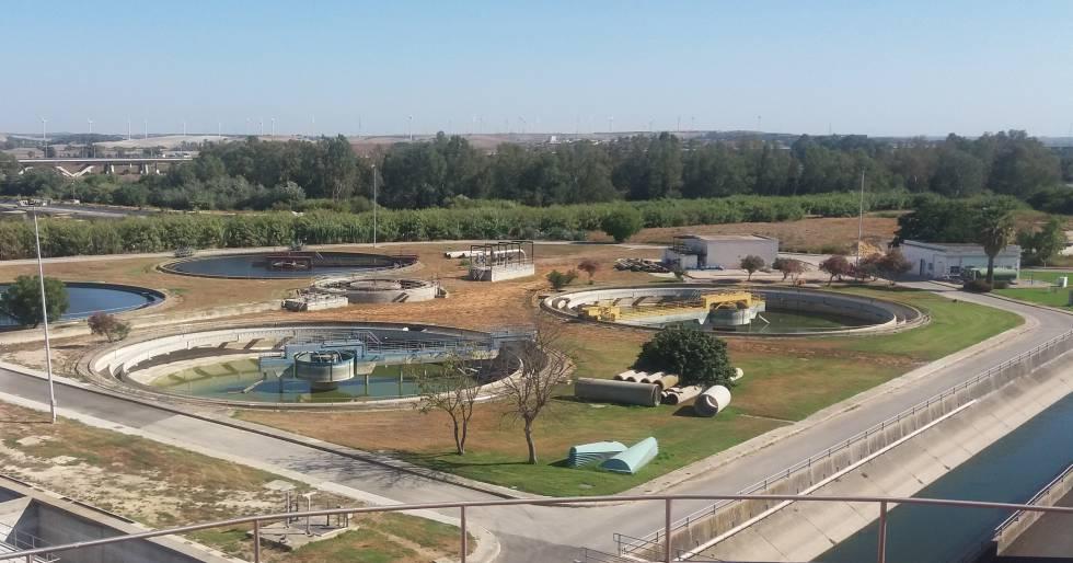 Depuradora de Jerez de la Frontera.
