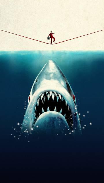 Los 'tiburones' acechan a la Bolsa española