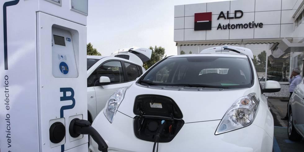 Centro de leasing de coches eléctricos de ALD en Leganés (Madrid).