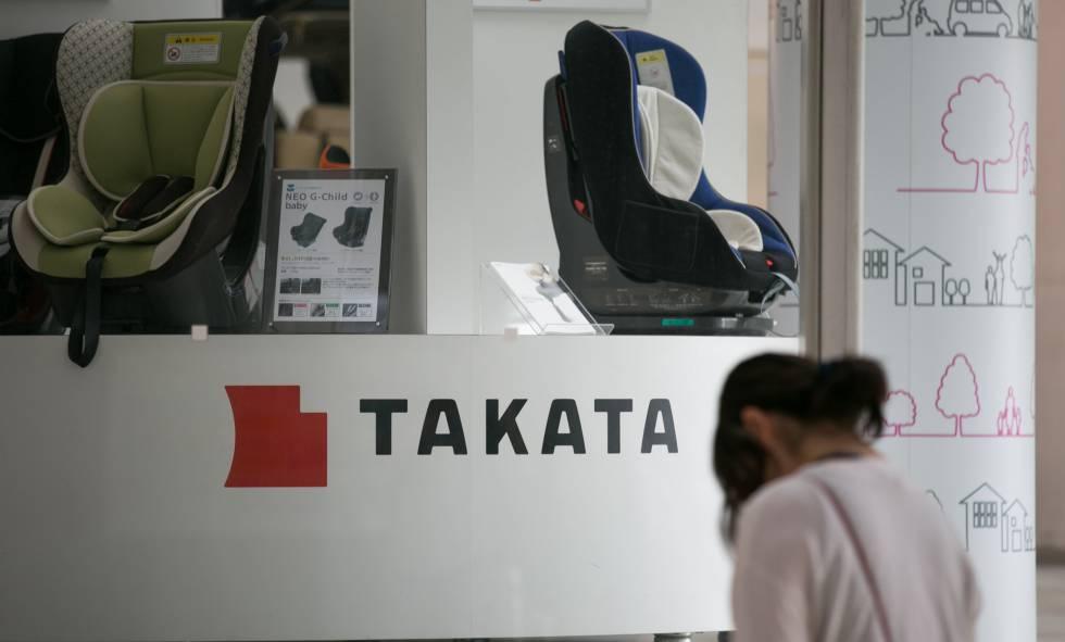 Logo de la compañía Takata.