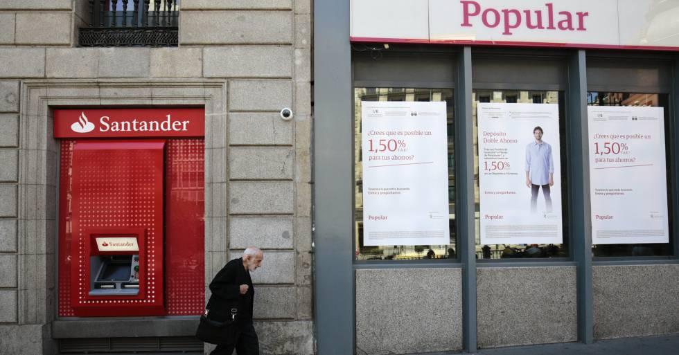 El santander inyect millones en el popular para for Sucursales banco santander valladolid