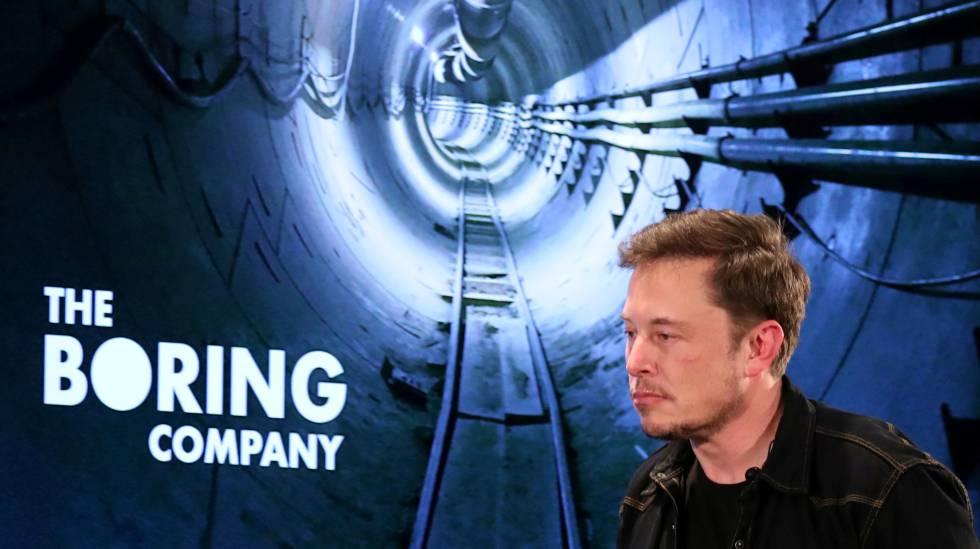 Así es el autobús ultrarrápido que prepara Elon Musk