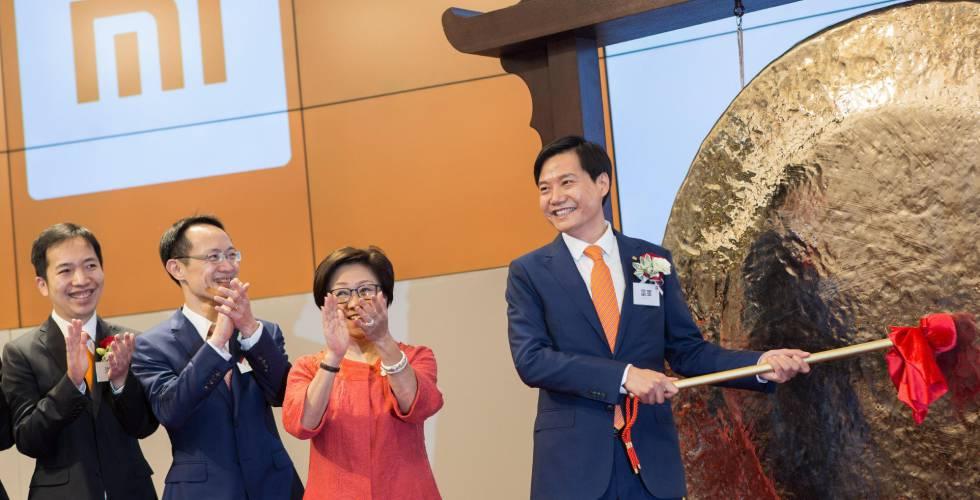 Xiaomi decepciona en su estreno en Bolsa con una caída del 1,29%