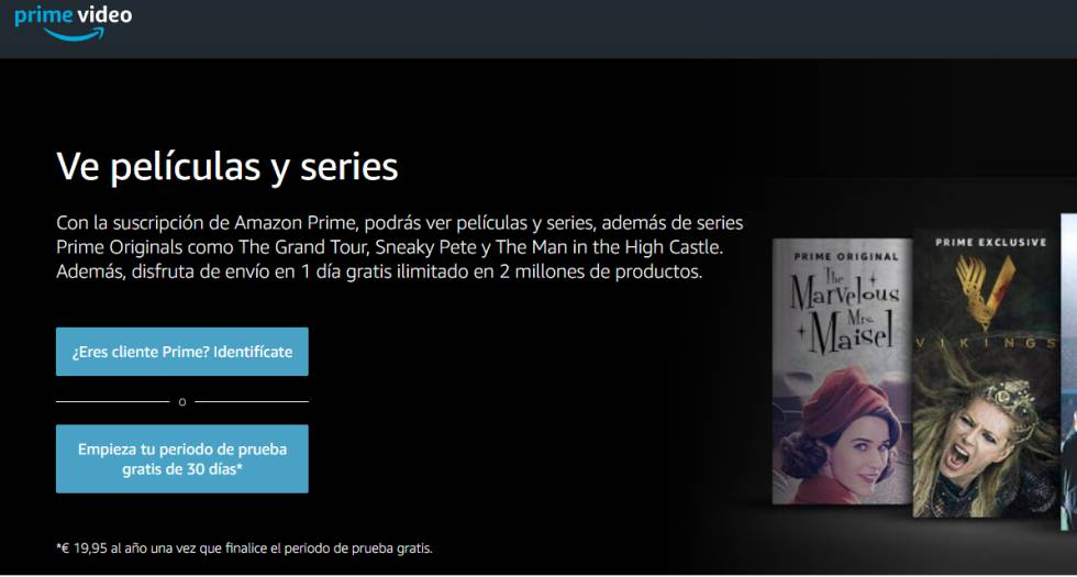 Telefónica negocia con Amazon la integración de su servicio 'Prime Video'