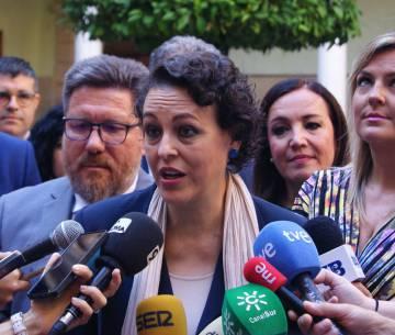 La ministra de Trabajo, Magdalena Valerio, en los Cursos de Verano de la UNIA