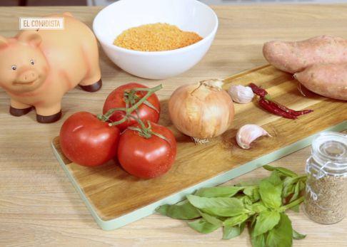 Curry vegetariano a un euro