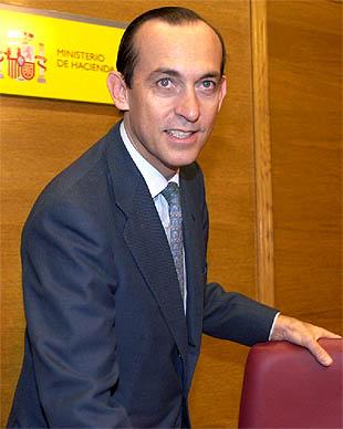 Imagen de archivo del secretario de Estado de Hacienda, Estanislao Rodríguez Ponga.